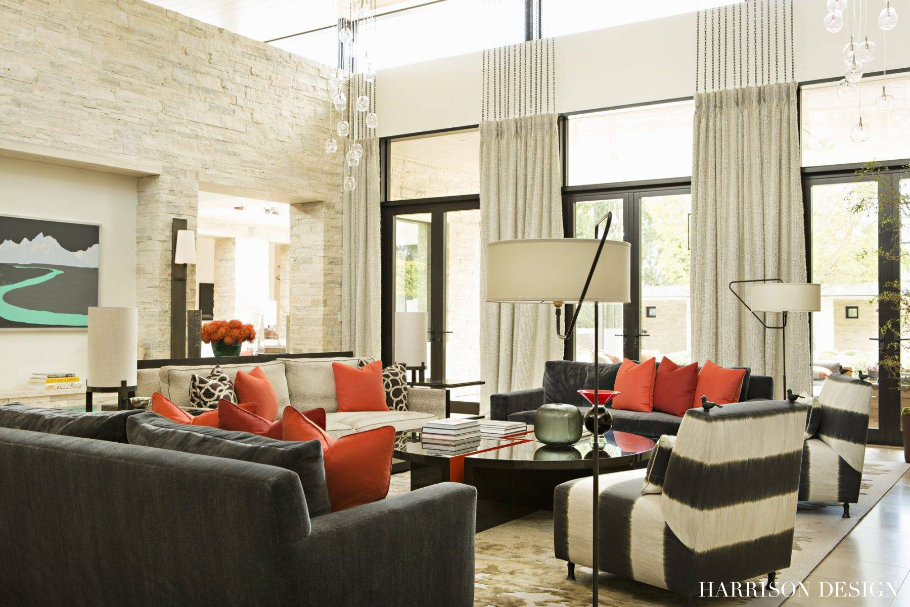 Modern renovation harrison design for Mid century modern renovation