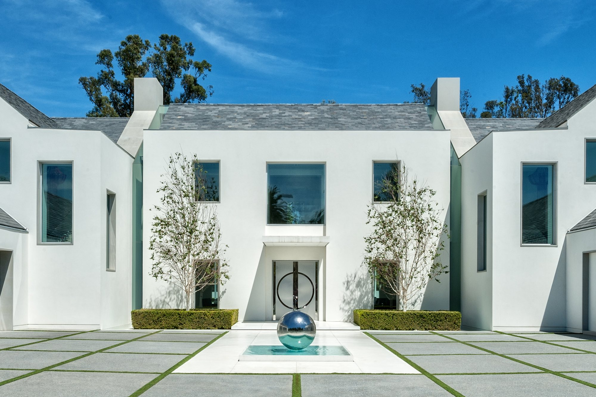 Modern Residential Design in Classic H Layout Los Angeles